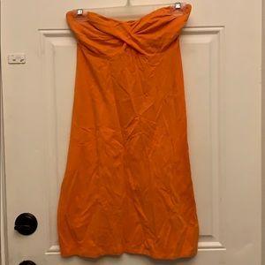 Strapless dress from Victoria's Secret